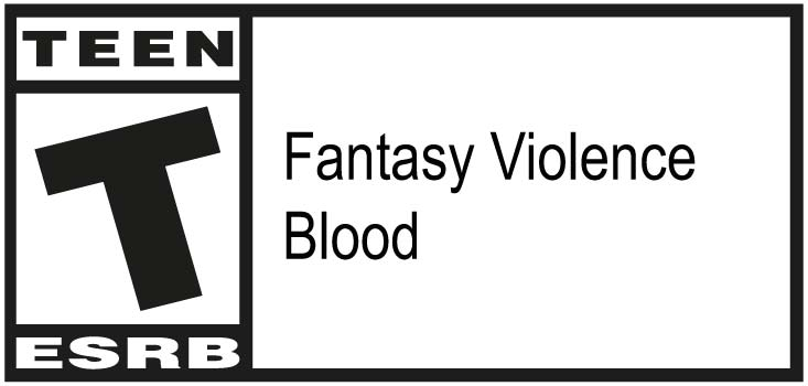 ESRB - Teen Adolescents - Fantasy Violence, Blood