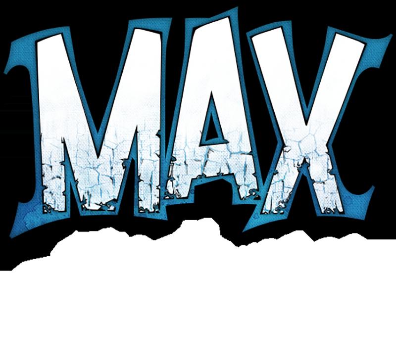 Max the Curse of Brotherhood logo